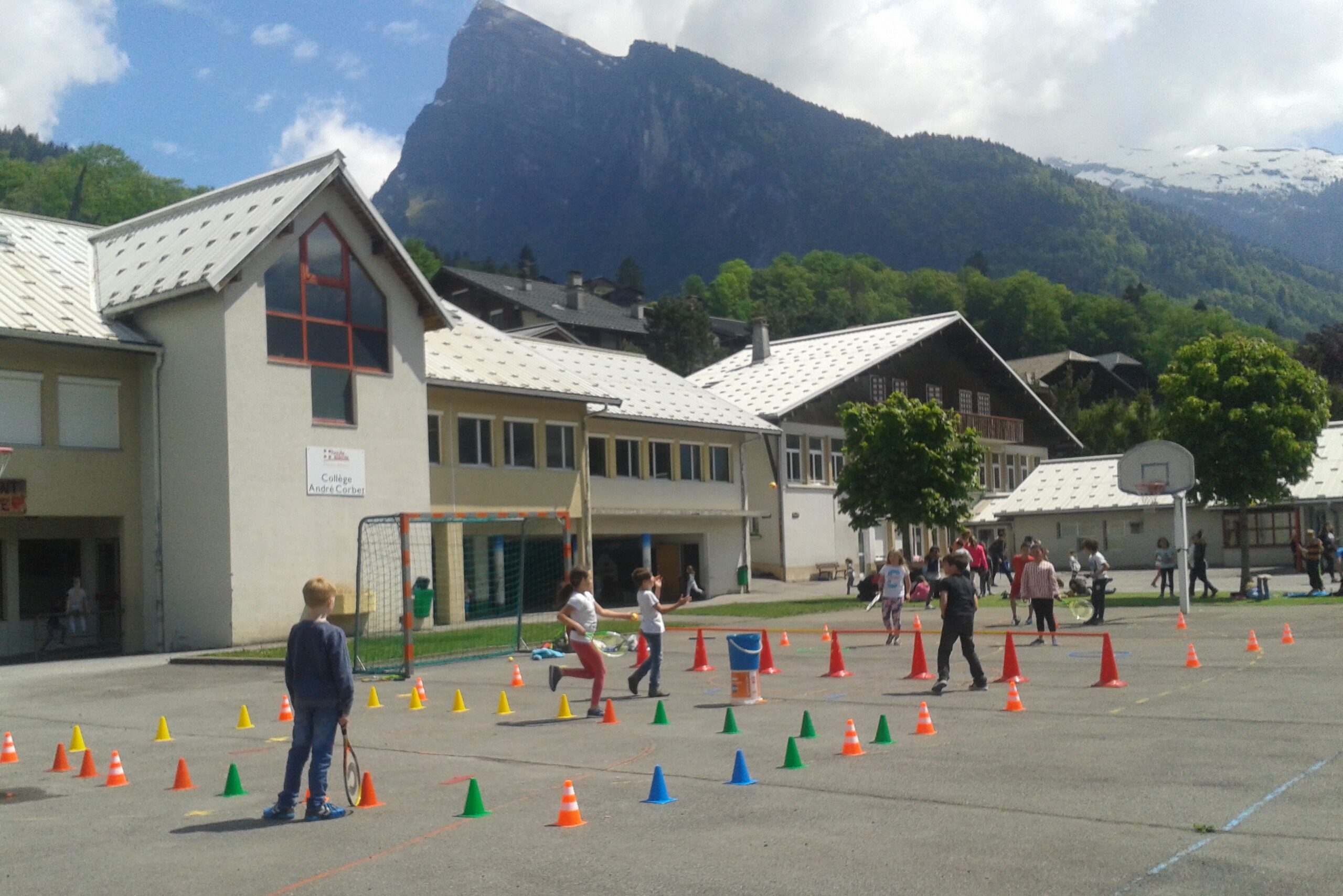 tennis à l 'école